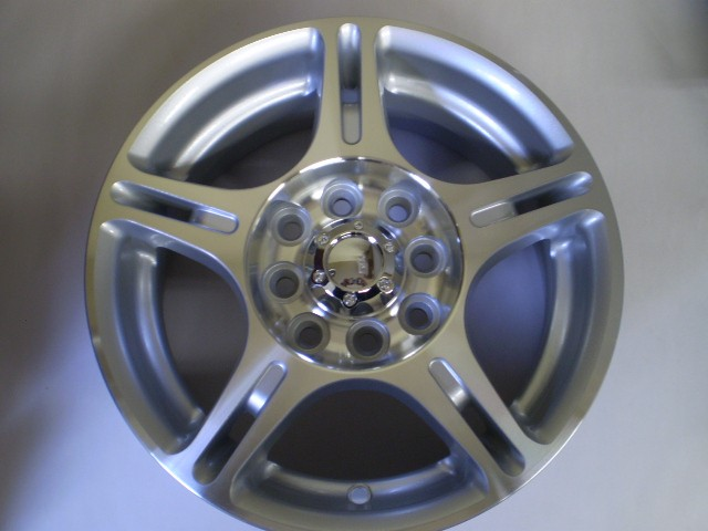 Minitruck 4 Alloy Wheels 13x5 4x110 + Center Caps