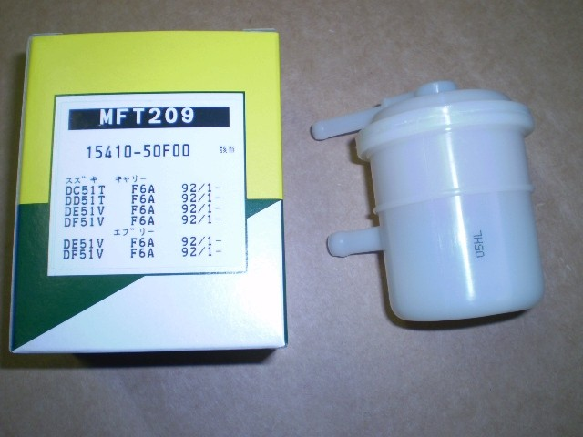 Suzuki Carry Mini Truck and Every Fuel Filter