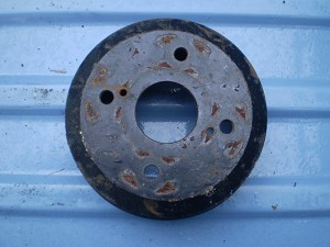 Suzuki Carry Mini Truck Rear Brake Drum Used