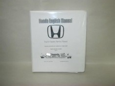 Honda Service Manual