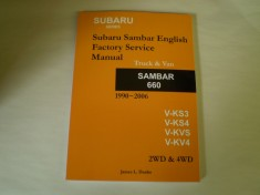 Subaru Sambar Mini Truck Service Manual