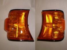 Suzuki Carry Mini Truck PAIR Corner Light Amber Round Headlight 91-98