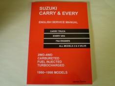 Suzuki Carry Mini Truck English Service Manual Shop Manual